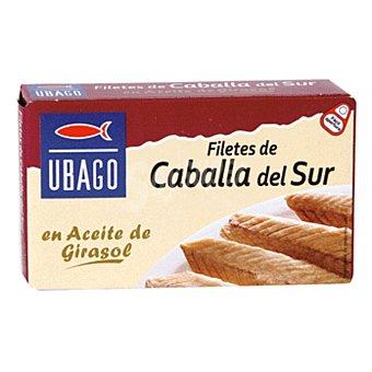 Ubago Filetes de caballa del Sur en aceite vegetal 65 g