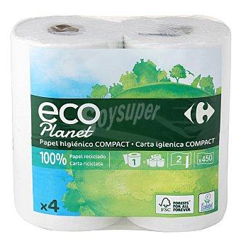 Carrefour Eco Planet Papel higiénico ecológico 4 rollos 4 rollos