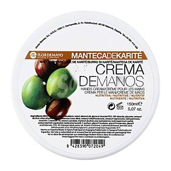 Flor de Mayo Crema de manos nutritiva de manteca de Karité 150 ml