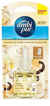 AMBIPUR Recambio Ambientador Harmonia de Vainilla 21,5ml