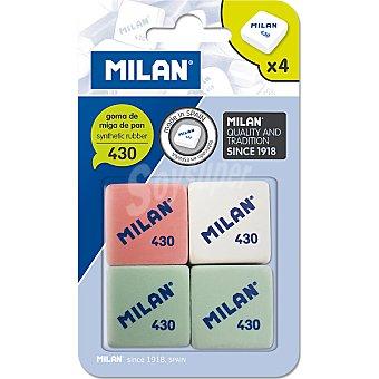Milan Gomas de borrar 4 unidades