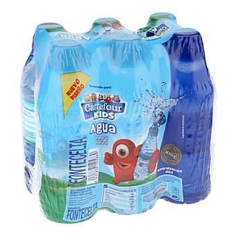 Carrefour Agua mineral natural Disney tapón sport Pack de 6x33 cl