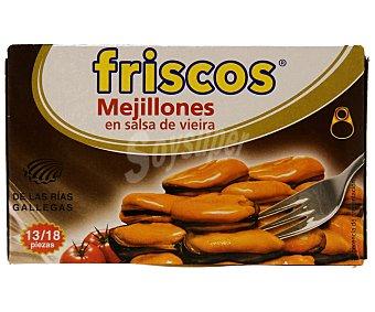 FRISCOS Mejillones en salsa de vieira 65 gramos