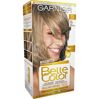 Belle Color Garnier Tinte rubio ceniza nº 7.1 tratamiento con aceite de argan coloracion permanente caja 1 unidad Caja 1 unidad