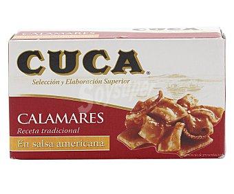 Cuca Calamares en salsa americana en trozos 72 gr