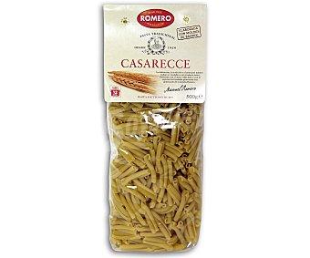 ROMERO TRADICIONAL Casarecces, pasta de sémola de trigo duro de calidad superior 500 gramos