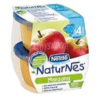 Naturnes Nestlé Tarrina de manzana Pack 2x130 g