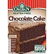 Preparado para pastel de chocolate sin gluten Envase 375 g ORGRAN Free From