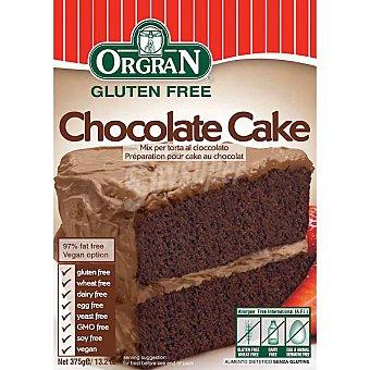 ORGRAN Free From Preparado para pastel de chocolate sin gluten Envase 375 g