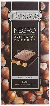 Torras Chocolate negro con avellanas enteras - Sin Gluten 200 g