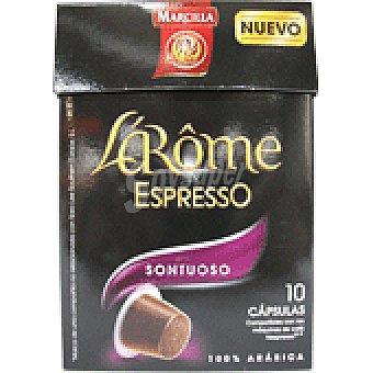 L'Arôme Espresso Marcilla Café Sontuoso Cápsulas L'Arôme Espresso - Intensidad 7 10 ud.