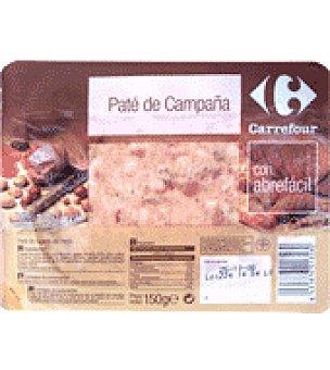 Carrefour Paté de campaña, receta tradicional 150 g
