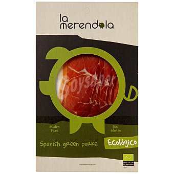La Merendola Jamón Serrano Ecológico Lonchas 75 Gramos
