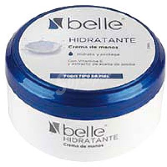 Eroski Crema de manos belle Tarro 200 ml