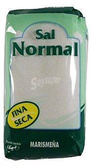 Marismeña Sal fina seca normal Paquete 1 kg