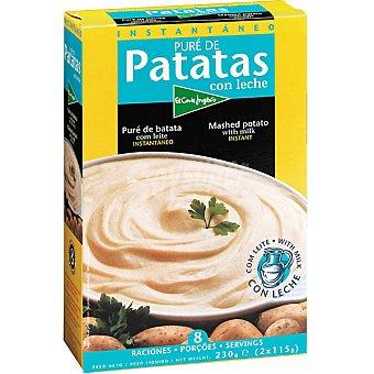 El Corte Inglés Puré de patata con leche Estuche 230 g