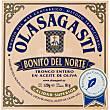 Bonito del norte tronco entero en aceite de oliva lata 81 g Olasagasti