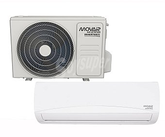 MOVAIR MOV10-6000 Aire acondicionado con bomba de calor Inverter, 6.000 frig/h, 6.300 cal/h. a++/a+, gas R32. (hasta 57m² aprox.)