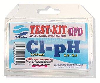 Pqs Kit para analizar el Cloro libre y el pH de tu piscina PQS