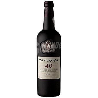 Taylor's vino de Oporto 40 años Botella 75 cl