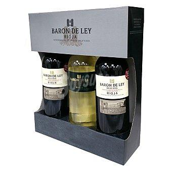 Barón de Ley Estuche de vino D.O. Rioja tinto reserva Pack de 2x75 cl
