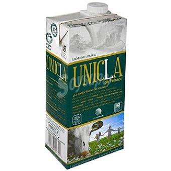 Únicla leche Premium 4 veces más omega 3 y cla con 1,8 de materia grasa  envase 1 l