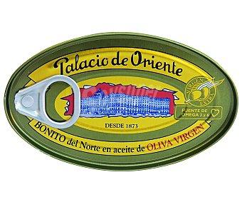 Palacio de Oriente Bonito en tronco con aceite de oliva virgen 82 Gramos Peso Escurrido