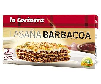La Cocinera Lasaña a la barbacoa Caja 530 g