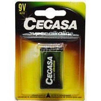 Cegasa Pila super alcalina 6LF22 Pack 1 unid