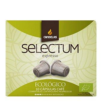 Candelas Café en selección especial ecológico 10 unidades