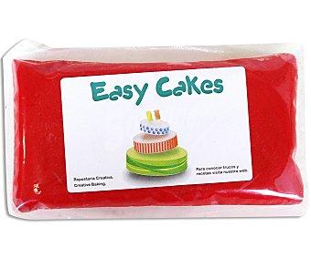 Easy cakes Pasta de azúcar de cobertura y modelage de color rojo 250 gr