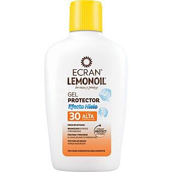 Ecran Lemonoil gel protector solar efecto hielo FP-30 frescor intenso Frasco 200 ml