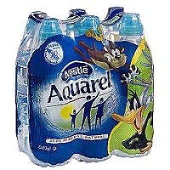 Aquarel Nestlé Agua mineral Pack 6x30 cl