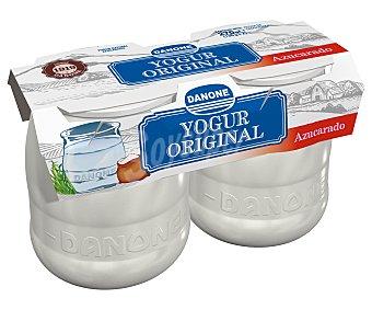 Original Danone Yogur natural azucarado enriquecido 'original 1919' 2 unidades de 135 g
