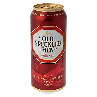 Old Speckled Hen Cerveza Morland English Fine Ale Lata 50 cl