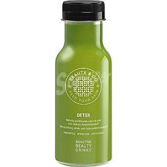 BEAUTY & GO Bebida Detox purificante para la piel con Macro-Antioxidantes botella 25 cl 25 cl