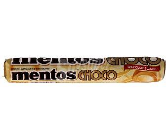 Mentos Caramelos masticables de chocolate blanco 38 gramos