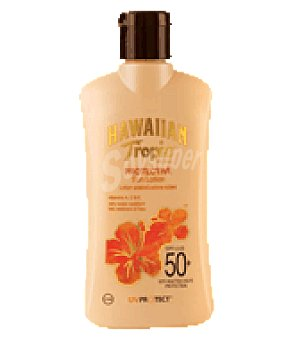Hawaiian Tropic Loción prot pink sp 50 200 ml