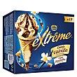 Cono de helado doble vainilla Estuche 4 u x 120 ml Extrême Nestlé