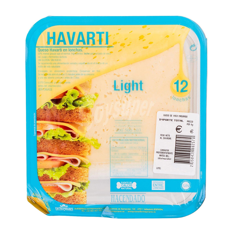 Resultado de imagen de havarti light