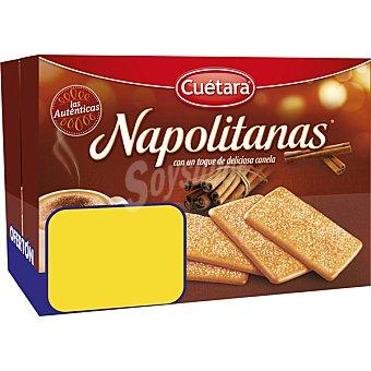 Cuétara Napolitanas galletas de desayuno con canela Pack 2 estuches 500 g