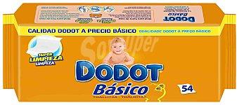 DODOT BASICO Toallitas infantiles envase 54 unidades