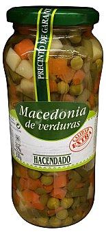 Hacendado Macedonia verdura conserva Tarro 320 g peso escurrido