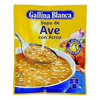 Gallina Blanca Sopa de Ave Con Arroz Sobre 80 Gramos