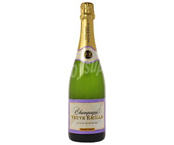 Veuve Emile Champagne semi seco Botella de 75 centilitros