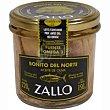 Bonito en aceite de oliva Frasco 220 g Zallo