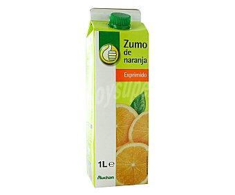 Productos Económicos Alcampo Zumo de naranja exprimido refrigerado 1 litro