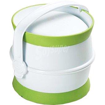 CURVER Pet kit Nomada para viaje contiene comedero, bebedero y bote para comida de mascotas 1 unidad