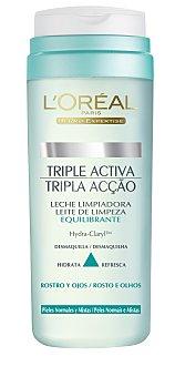 L'Oréal Leche desmaquillante fresca para pieles normales a mixtas 200 mililitros