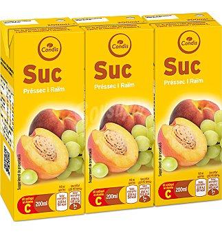 Condis Zumo meloc-uva Pack 3 unidades
